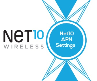 The Net10 Mobile Data Settings